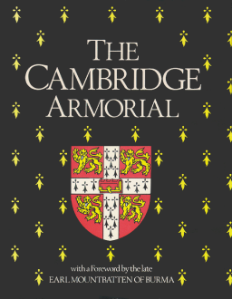 Dust cover of The Cambridge Armorial